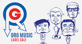 Org Music Label Sale