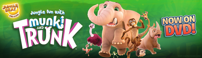 Jungle Fun with Munki and Trunk