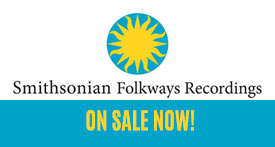 Smithsonian Folkway Sale