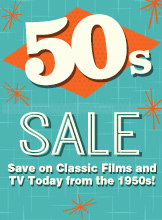 50s Films and TV Sale