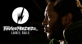 Brainfeeder label Sale