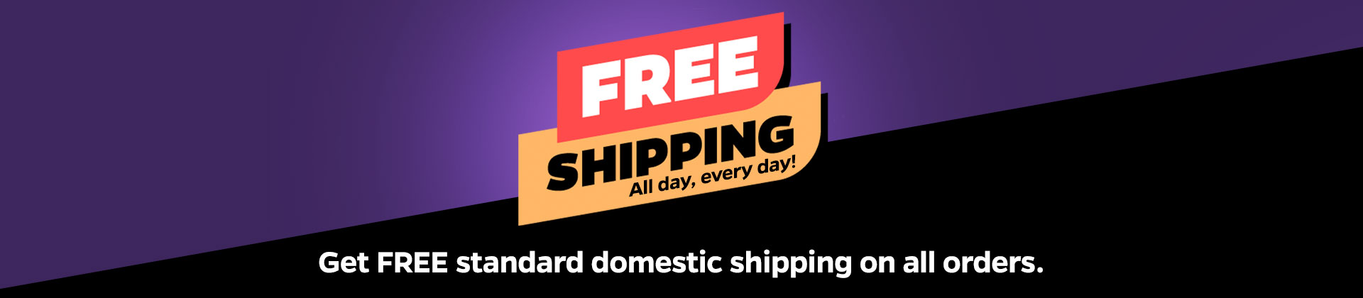 New Look + Free Shipping All Day Every Day