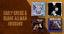 Early Gregg + Duane Allman Brothers reissues