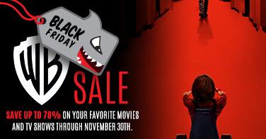 Warner Black Friday Sale