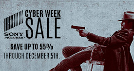 Sony Pictures Cyber Week Sale