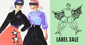 We are Busy Bodies Label Sale