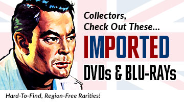 Imported Region Free DVDs and Blu-rays