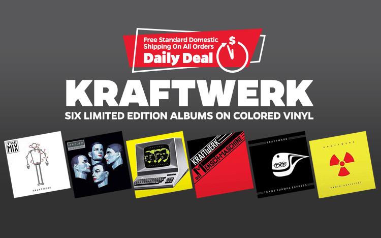 Kraftwerk Vinyl reissues