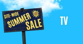 Site-Wide Summer Sale TV