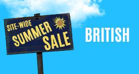 Site-Wide Summer Sale British