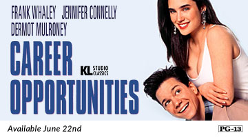 Career Opportunities on Blu-ray Available June 22