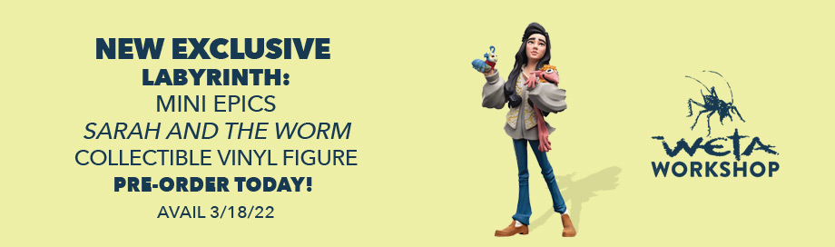 Sarah and the Worm Collectible Vinyl Figure