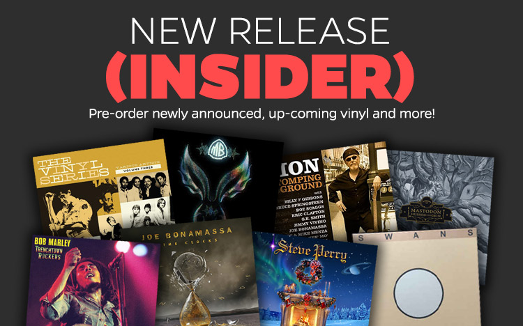 Pre-order new music with the New Release Insider