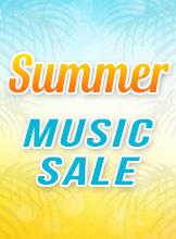 Summer Music Sale