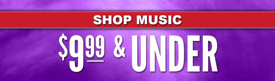 $9.99 and Under Music Sale
