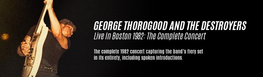 George Thorogood on Sale
