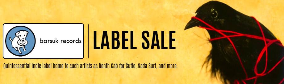 Barsuk Label Sale
