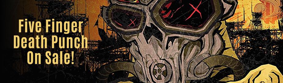 Five Finger Death Punch on Sale