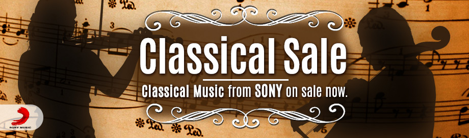 Sony Classical on Sale