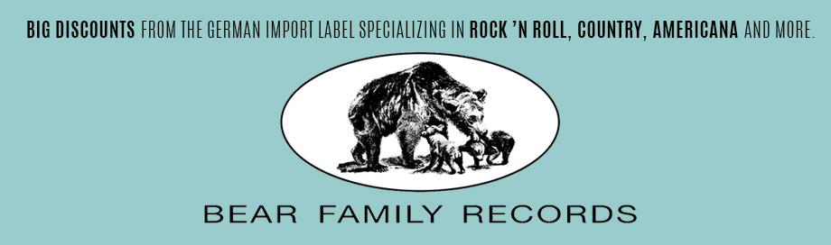 Bear Family Records Sale