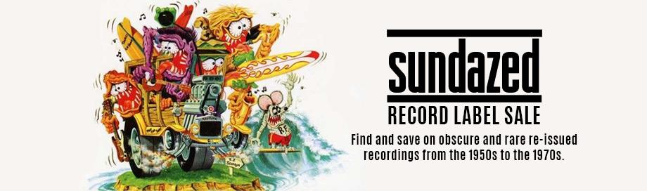 sundazed records sale