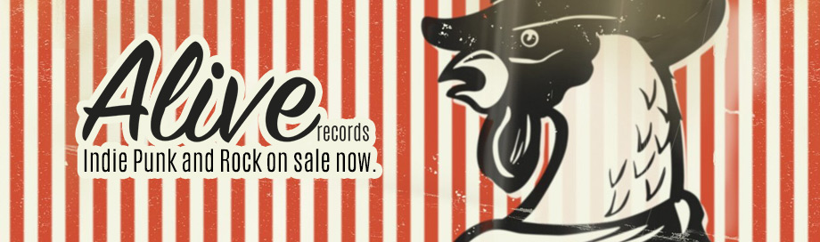 Alive Records on sale