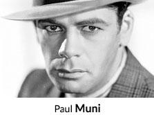 Shop by Actor Paul Muni