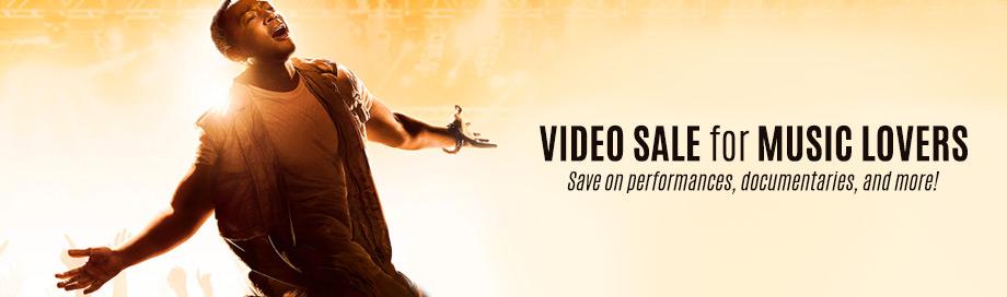 Music Video Sale