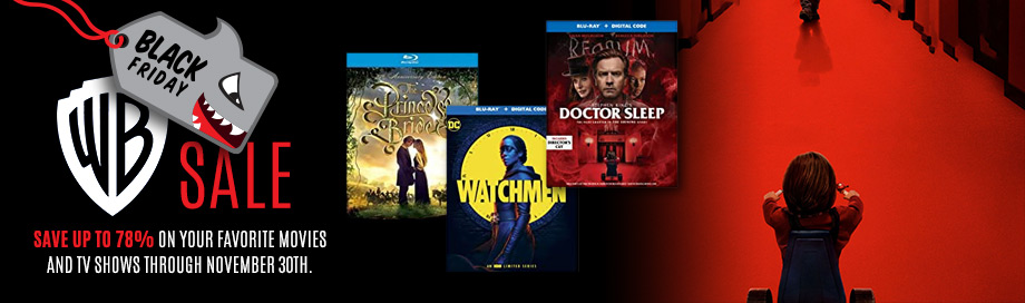 Warner Bros Black Friday Sale