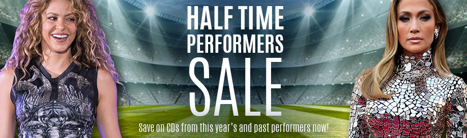 Halftime Performers Sale