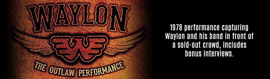 Waylon Jennings on Sale