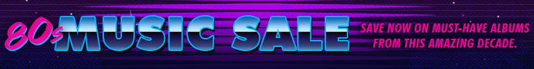 80s Music Sale