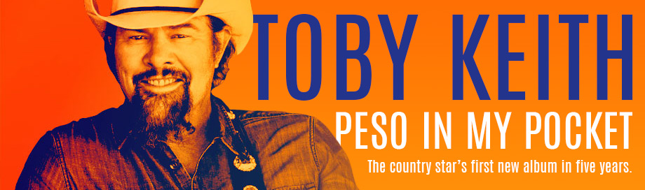 Toby Keith on sale