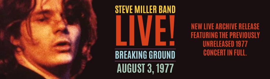 Steve Miller on sale