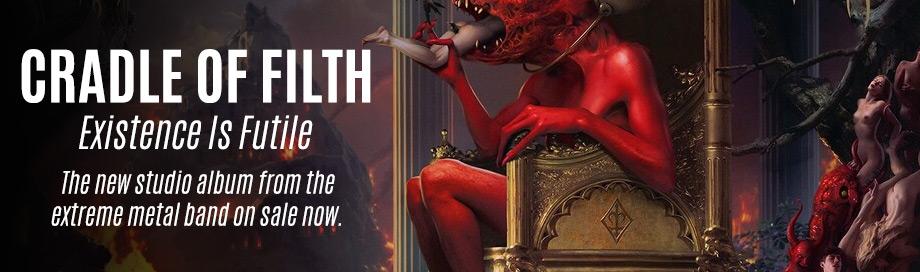 Cradle of Filth on sale