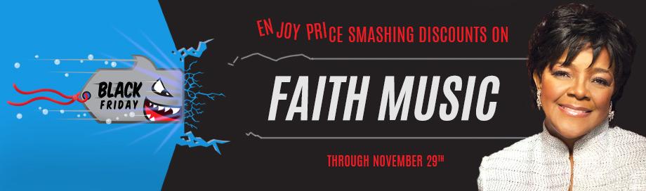 Special Sale Faith Music