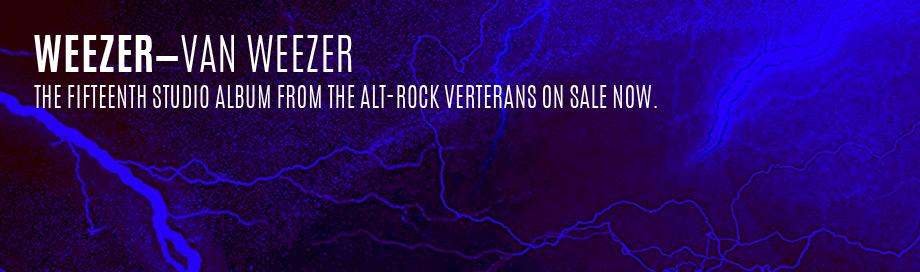 Weezer on sale