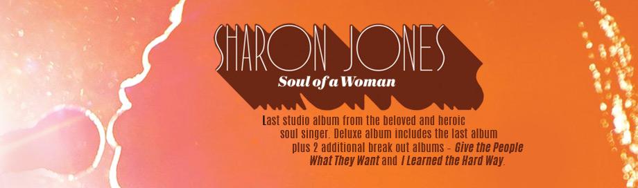 Sharon Jones on sale