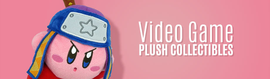 Video Game Plush Collectibles