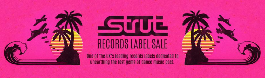 Strut Records Label Sale