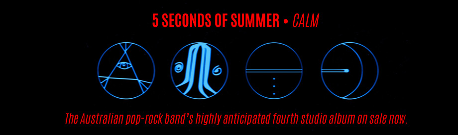 5 Seconds of Summer on sale