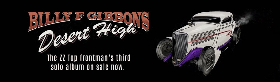 Billy Gibbons on sale