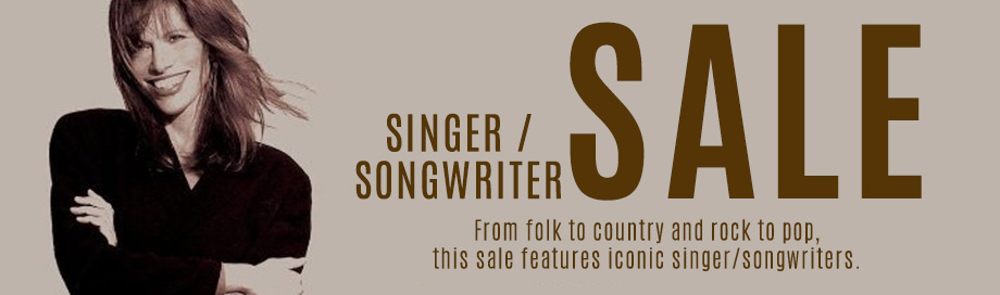 Singer Songwriter sale