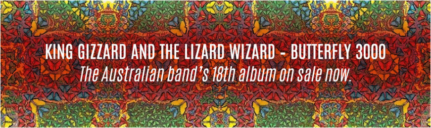King Gizzard and the Lizard Wizard on sale