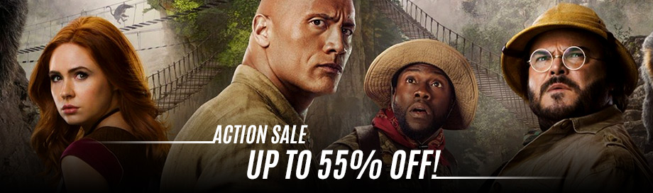 Action and Adventure Sale