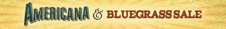 Americana and Bluegrass sale