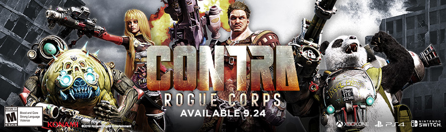Contra Rogue on sale