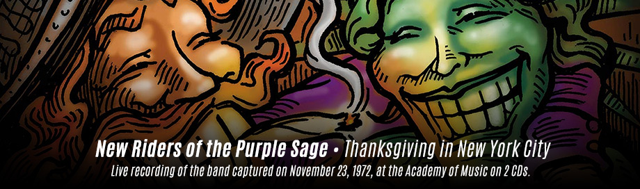 New Riders of the Purple Sage on sale