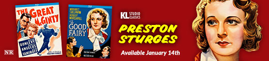 Preston Sturges on Blu-ray from KL Studio Classics