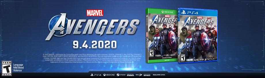 Marvels Avengers Game